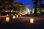 「福井城址お堀の灯り」2017