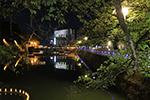「福井城址お堀の灯り」2020