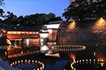 「福井城址お堀の灯り」2021